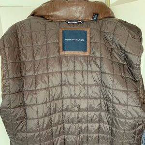 Tommy Hilfiger Jackets & Coats - Vintage Brown Tommy Hilfiger Leather Jacket XXL